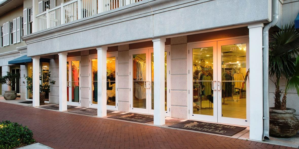 Pgt commercial aluminum storefront entry door pgt industries - Commercial aluminum exterior doors ...